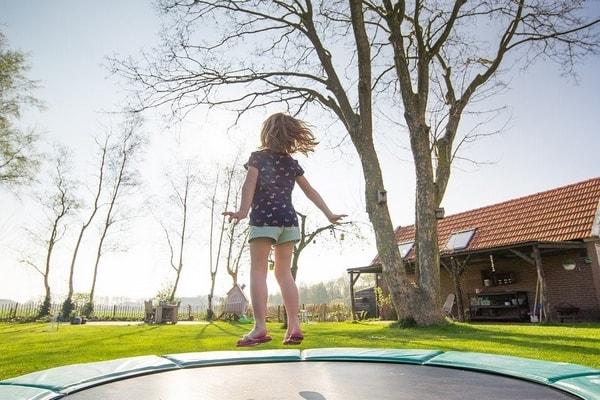 Test trampoline